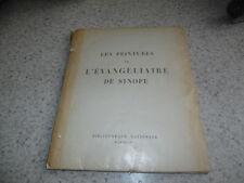 1948.Peintures de l'évangéliaire de Sinope.Grabar