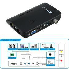 NTSC External VGA AV LCD Monitor Analog PC TV Program Receiver HD Tuner Box HDTV