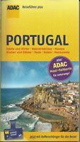 Reiseführer Portugal + MaxiFaltkarte Ungelesen wie neu 2018 ADAC Plus 192 Seiten