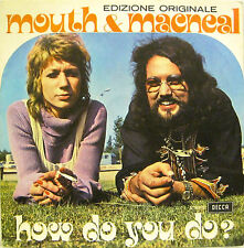 """MOUTH & MACNEAL """"HOW DO YOU DO?""""  45' Italy mint"""