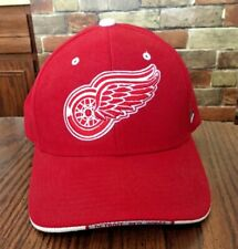 watch 44a12 af119 DETROIT RED WINGS BALL CAP L XL ADJUSTABLE NEW WITH TAGS ZEPHYR NHL  OFFICIAL Red