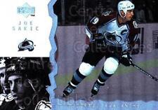 1996-97 UD Ice #108 Joe Sakic