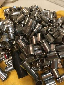 Huge Ratchet Socket Lot Of 280 Pieces!!