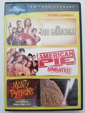 The Big Lebowski American Pie Monty Python's the Meaning of Life 3-Movie DVD Set