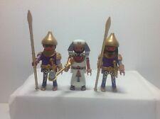 Playmobil Ägypter Pharao mit Palastwache