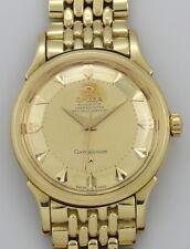 Vintage Omega Constellation DeLuxe 18K Gold Step Pie-Pan 2852 aus 1957