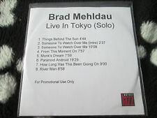 Brad Mehldau – Live In Tokyo (Solo) Warner Jazz PROMO  Warner  CD Album