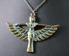 Alloy Egyptian Goddess Isis Pendant Necklace w/Free Jewelry Box and Shipping