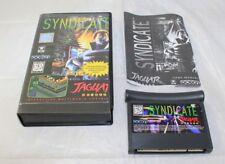 Syndicate (Atari Jaguar, 1995) Not Original Case Complete