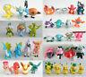 10 x Large Pokemon Character Mini Figures Pikachu Figure Minfigures 4-5 cms