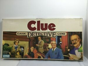 Vintage 1986 Clue Board Game Replacement Pieces:  Choose Your Replacement Piece