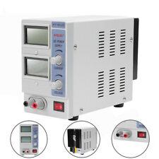 18V 2A DC Power Supply Precision Variable Digital Adjustable Clip Cable WF
