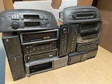 Job Lot Collection Of Car Radio Stereo Cd Cassette Players Head Units Spares