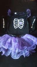 HELLOWEEN GIRL'S 3 PARTS COSTUME 9-10 YEARS, OUTFIT _________________________