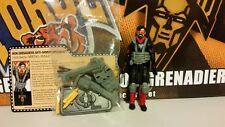 GI Joe Convention 2015 JoeCon Iron Grenadier Metal-Head *LOOSE/COMPLETE*
