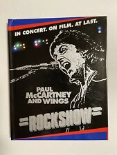 Paul McCartney and Wings Rockshow Blu-ray Disc and Book 2013 Beatles (Pre-Owned)