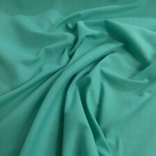 Jade Cotton Drill Dress Fabric 150cm Wide by The Metre P P