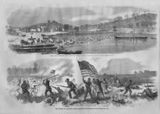 COLORED SOLDIERS BATTLE OF MILLIKEN'S BEND ARMY BEEF SWIMMING THE OCCOQUAN RIVER