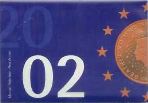 Nederland 2002 FDC set 1 cent-2 euro KMS