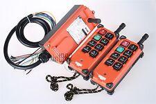 Double Emitters Hoist Crane Radio Wireless Remote Control switch DC 12V F21-E1B