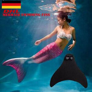 Kleidung Damen Badeanzug Schwimmen Meerjungfrau Kinder Badeanzug Monofin Schwanz