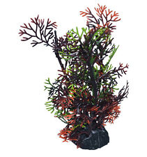 1x aquariumdekopflanze artificiel plante arbre d'Aquarium Poisson brun