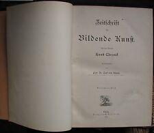 LÜTZOW: Zeitschrift für Bildende Kunst. 1878. 388 S. Zahlreiche Abbildungen