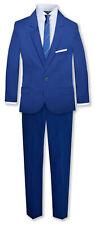 Johnnie Lene Formal Boys Kids Slim Skinny Fit Suit 6 Piece Dresswear Clothing