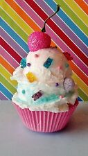 CANDY ICE CREAM FAKE CUPCAKE PHOTO PROP AND BIRTHDAY PARTY DECORATIONS
