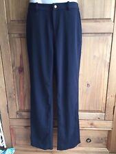 Ladies RALPH LAUREN Black Formal Trousers Size 2 (UK 6) Excellent Conditon