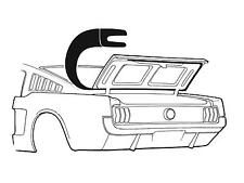 1965-1966 Ford Mustang Fastback Trunk Seal HIGH QUALITY RUBBER