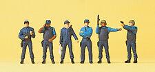 """Preiser 10396 H0 Figuren """"Polizeieinsatz USA""""  #NEU in OVP##"""