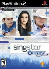New Factory Sealed - SINGSTAR COUNTRY - Playstation 2 - PS2 - Free US Shipping
