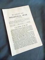 Millenial Star August 4, 1910 LDS Mormon News Pamphlet Booklet
