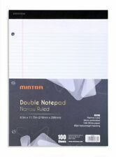 White Dual Pad 2 Pack 100 Sheets 85in X 1175in