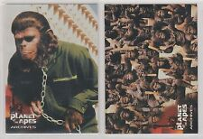 Planet Of The Apes Archives 1999 Inkworks Promo Cards P1 P2