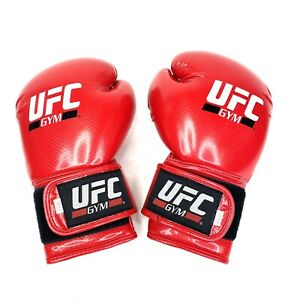 UFC Gym Premium Training Sparring Boxing Gloves (16 oz) Red