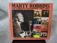 (CD) MARTY ROBBINS - Complete Recordings 1961-1963 (4 CD Set)