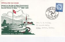 Isle of Man 1966 Centenary of The Elected House of Keys Used VGC