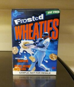 1999 ULTRA RARE Ken Griffey Jr Wheaties MINI SAMPLE CEREAL Sealed Only 1 on EBAY