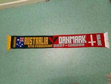 Australia V Danmark Football Supporters Scarf