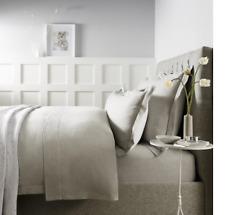 Evesham Flat Sheet - Soft Grey SUPERKING - The white Company 305x275cm