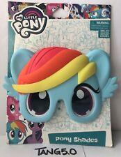 New My Little Pony Rainbow Dash Pony Shades Glasses Costume Accessory Kid Girls