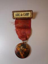 "1919 G.A.R. Grand Army of the Republic ""Aide de Camp"" Ribbon Col J.E. Ewell"