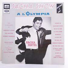 """33T Sacha DISTEL Vinyle LP 12"""" SACHA SHOW A L'OLYMPIA - VOIX MAITRE EMI 306"""