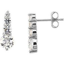 (G, SI1) Diamante Viaggio Orecchini in Platino (1.00 Ct. Tw
