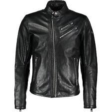 DIESEL L-Oyton Leather Biker Jacket, Size L