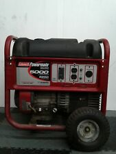 Coleman Powermate 5000 watt Portable Generator Back Up Emergency Gas Powered