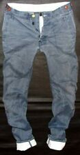 EUC Auth RAW CORRECT LINE by G-STAR Arc 3D loose tapered chambray denim US32