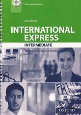 Oxford INTERNATIONAL EXPRESS 3rd Ed Intermediate TEACHER'S Book w DVD-ROM @New@